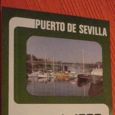 Catálogos publicitários: PUERTO DE SEVILLA.MEMORIA 1980.MINISTERIO OBRAS PUBLICAS.. Lote 136650918