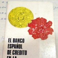 Catálogos publicitarios: EL BANCO DE CREDITO EN LA V FERIA IBEROAMERICANA DE SEVILLA, 1965. Lote 136671514