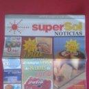 Catálogos publicitarios: PANFLETO REVISTA FOLLETO PUBLICIDAD PUBLICITARIO ADVERTISING SUPER SOL SUPERSOL SUPERMERCADOS 2002 . Lote 137587794