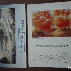 Catálogos publicitarios: CATALOGOS EXPOSICIONES DE PINTURA. Lote 138125962