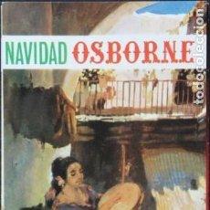 Catálogos publicitarios: FOLLETO PUBLICITARIO NAVIDAD BRANDY OSBORNE. AÑO 1968. Lote 139874302