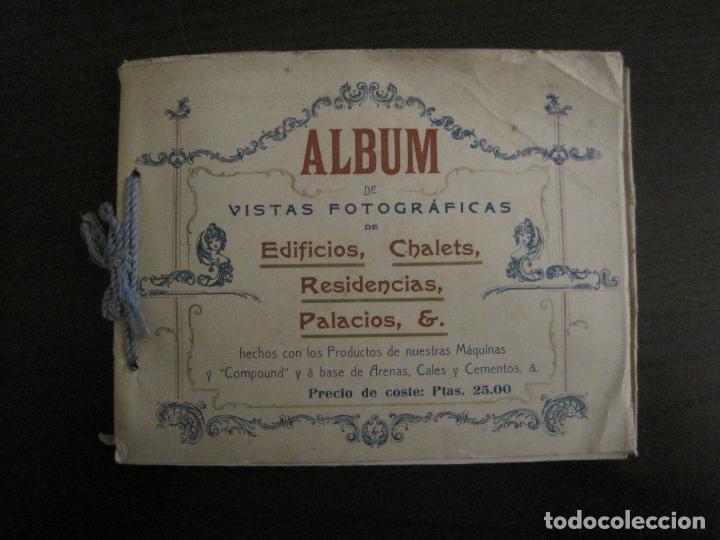ALBUM CATALOGO EDIFICIOS, CHALETS... MAQUINARIA HIGHTOWN J.F. VILLALTA BARCELONA-VER FOTOS(V-15.292) (Coleccionismo - Catálogos Publicitarios)