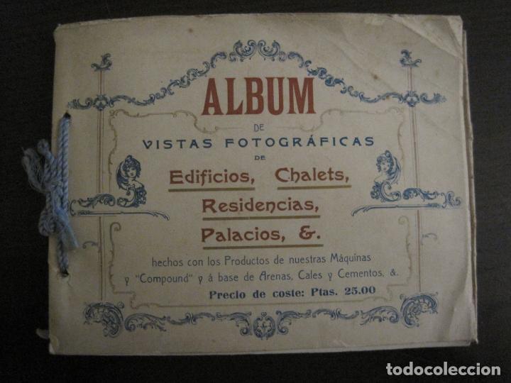 Catálogos publicitarios: ALBUM CATALOGO EDIFICIOS, CHALETS... MAQUINARIA HIGHTOWN J.F. VILLALTA BARCELONA-VER FOTOS(V-15.292) - Foto 2 - 139887626