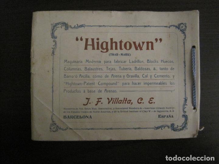 Catálogos publicitarios: ALBUM CATALOGO EDIFICIOS, CHALETS... MAQUINARIA HIGHTOWN J.F. VILLALTA BARCELONA-VER FOTOS(V-15.292) - Foto 3 - 139887626