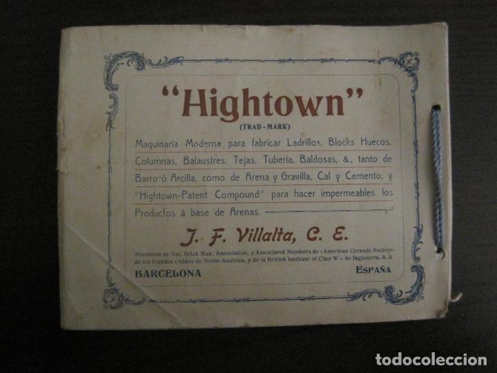 Catálogos publicitarios: ALBUM CATALOGO EDIFICIOS, CHALETS... MAQUINARIA HIGHTOWN J.F. VILLALTA BARCELONA-VER FOTOS(V-15.292) - Foto 4 - 139887626