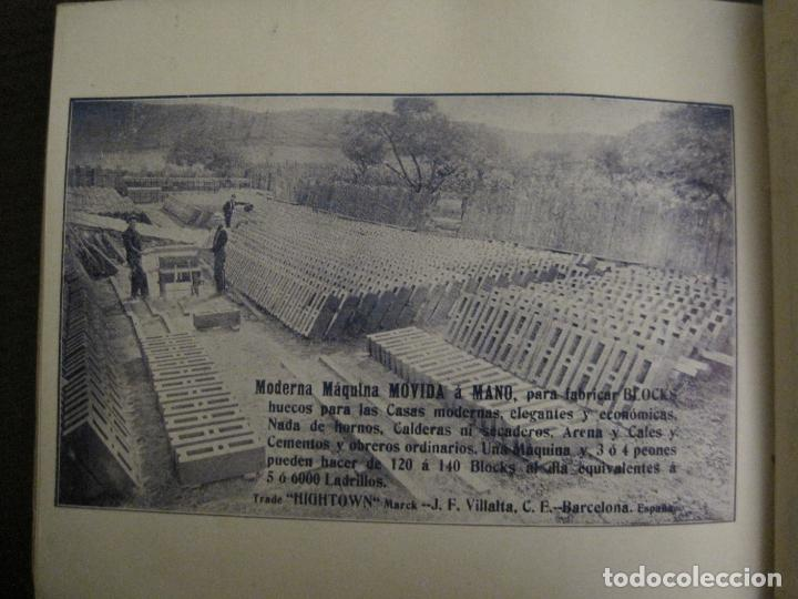 Catálogos publicitarios: ALBUM CATALOGO EDIFICIOS, CHALETS... MAQUINARIA HIGHTOWN J.F. VILLALTA BARCELONA-VER FOTOS(V-15.292) - Foto 20 - 139887626