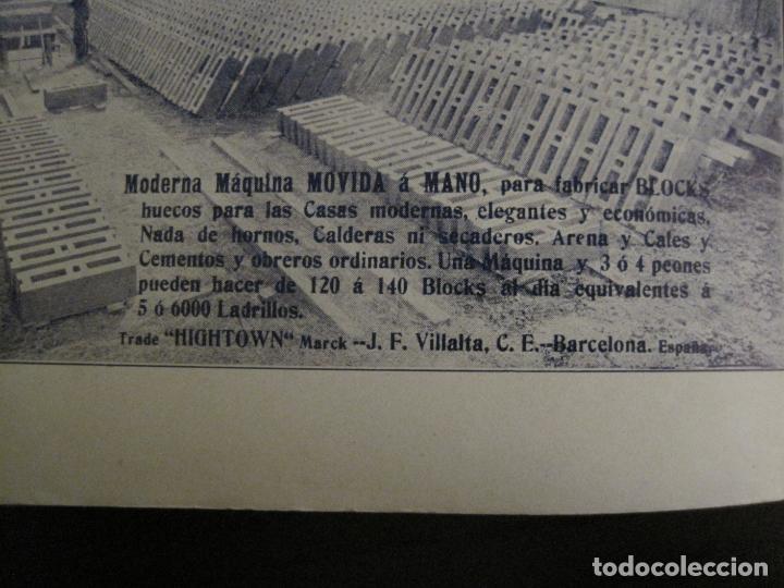 Catálogos publicitarios: ALBUM CATALOGO EDIFICIOS, CHALETS... MAQUINARIA HIGHTOWN J.F. VILLALTA BARCELONA-VER FOTOS(V-15.292) - Foto 21 - 139887626