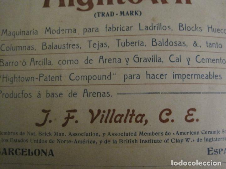 Catálogos publicitarios: ALBUM CATALOGO EDIFICIOS, CHALETS... MAQUINARIA HIGHTOWN J.F. VILLALTA BARCELONA-VER FOTOS(V-15.292) - Foto 22 - 139887626