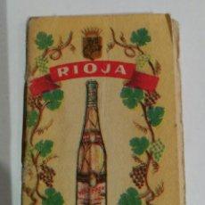 Catálogos publicitarios: CATÁLOGO EN MINIATURA DE - BODEGAS RIOJA SANTIAGO - HARO. Lote 139889178