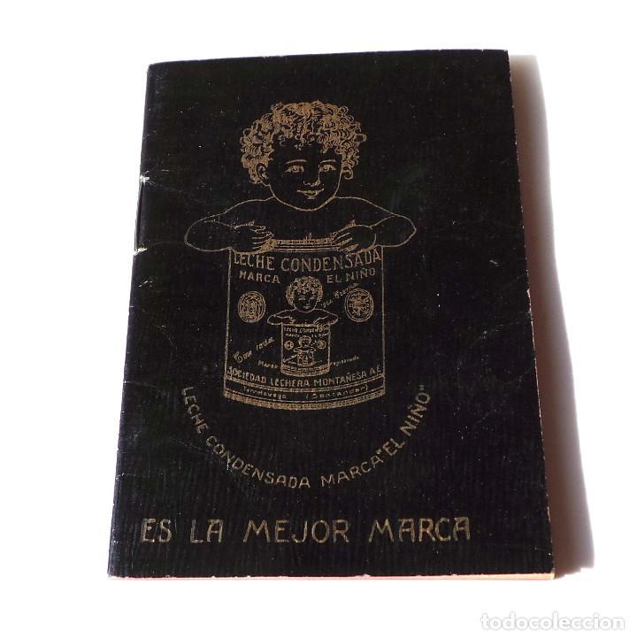 LECHE CONDENSADA EL NIÑO AGENDA - LIBRETA - BARCELONA. EXCELENTE ESTADO (Coleccionismo - Catálogos Publicitarios)