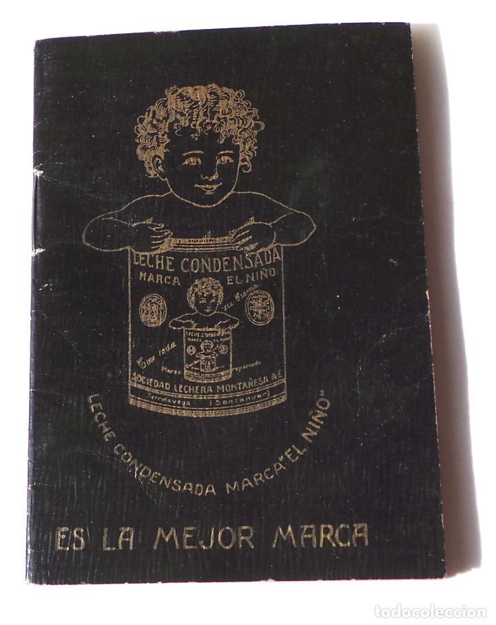Catálogos publicitarios: LECHE CONDENSADA EL NIÑO AGENDA - LIBRETA - BARCELONA. EXCELENTE ESTADO - Foto 2 - 139973722