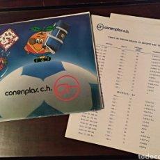 Catálogos publicitarios: CONENPLAS CATÁLOGO PUBLICIDAD MUNDIAL 1982 NARANJITO Y TARIFA DE PRECIOS 36 PAGINAS. Lote 140227236