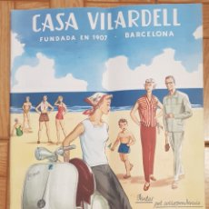 Catálogos publicitarios: CATALOGO CASA VILARDELL 1956. Lote 140559393