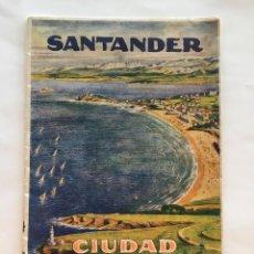 Catálogos publicitarios: SANTANDER. CIUDAD DE VERANO. BANCO MERCANTIL SEDE SOCIAL EN SANTADER. DESPLEG. ALDUS, S. A., H.1929. Lote 140850198