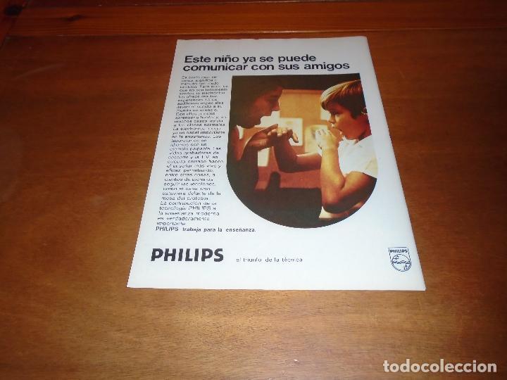 PUBLICIDAD 1978: PHILIPS TRABAJA PARA LA ENSEÑANZA. (Coleccionismo - Catálogos Publicitarios)