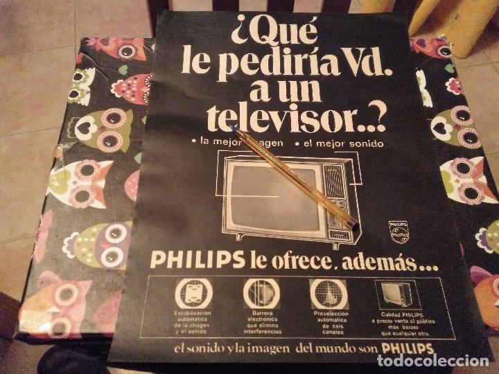 ANTIGUO ANUNCIO PUBLICIDAD REVISTA TELEVISOR PHILIPS ESPECIAL PARA ENMARCAR (Coleccionismo - Catálogos Publicitarios)