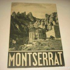 Catálogos publicitarios: MONTSERRAT, TRIPTICO PUBLICITARIO.RIEUSSET. Lote 143124402