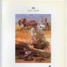 Catálogos publicitarios: CATALOGO PUBLICITARIO DEL PINTOR CONRADO MESEGUER MUÑÓZ EN LAS GALERÍAS SEGRELLES AÑO 1997. Lote 143182978