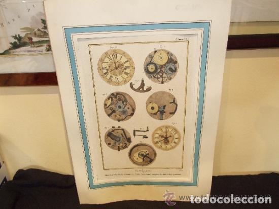 Catálogos publicitarios: RELOJ, GRABADO, COLECCION DE 9 GRABADOS FRANCESES SOBRE RELOJES - Foto 2 - 143830126