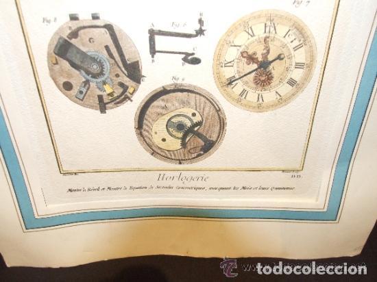 Catálogos publicitarios: RELOJ, GRABADO, COLECCION DE 9 GRABADOS FRANCESES SOBRE RELOJES - Foto 3 - 143830126