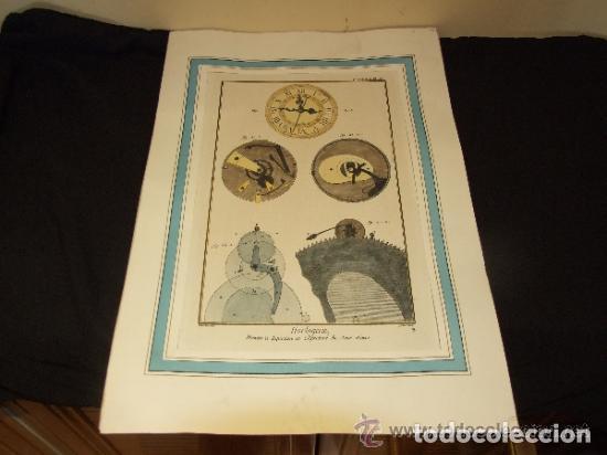 Catálogos publicitarios: RELOJ, GRABADO, COLECCION DE 9 GRABADOS FRANCESES SOBRE RELOJES - Foto 4 - 143830126