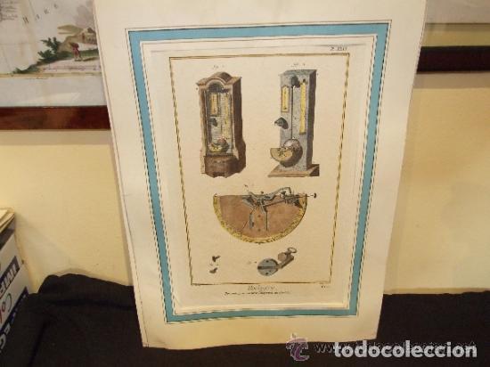 Catálogos publicitarios: RELOJ, GRABADO, COLECCION DE 9 GRABADOS FRANCESES SOBRE RELOJES - Foto 6 - 143830126