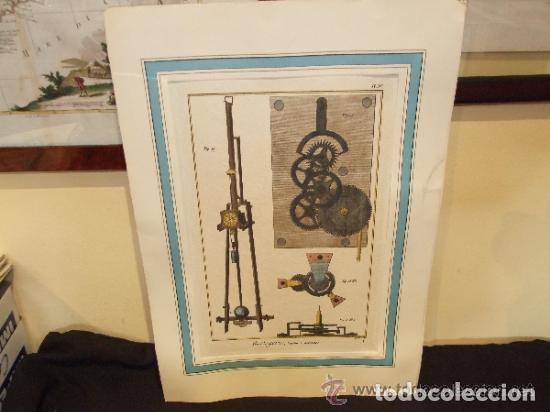 Catálogos publicitarios: RELOJ, GRABADO, COLECCION DE 9 GRABADOS FRANCESES SOBRE RELOJES - Foto 7 - 143830126