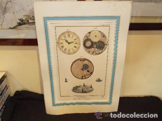 Catálogos publicitarios: RELOJ, GRABADO, COLECCION DE 9 GRABADOS FRANCESES SOBRE RELOJES - Foto 10 - 143830126