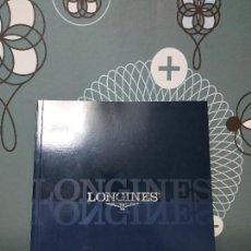 Catálogos publicitarios: CATALOGO RELOJES LONGINES. Lote 144498074