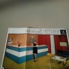 Catálogos publicitarios - FOLLETO ORIGINAL MOBILIARIO DE OFICINA VIVES AÑOS 70 - 144588814