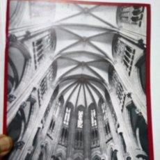 Catálogos publicitarios: NUEVA CATEDRAL DE VITORIA. 1969. IMPRIME HERACLIO FOURNIER.. Lote 144958640