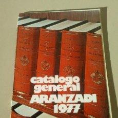 Catálogos publicitarios: CATALOGO EDITORIAL ARANZADI OBRAS DE DERECHO EMPRESARIALES Y TECNICAS 1977. Lote 145001198