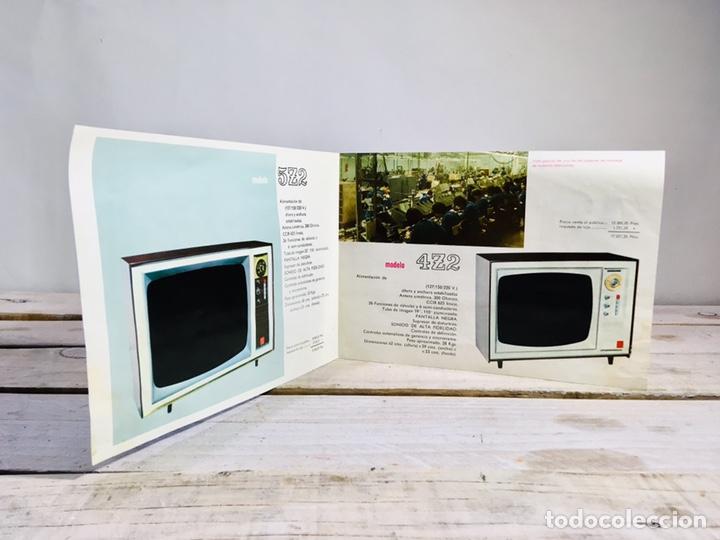 Catálogos publicitarios: FOLLETO PUBLICIDAD TELEVISIÓN ANUNCIO GENERAL ELECTRICA ESPAÑOLA TV VINTAGE TELEVISOR - Foto 6 - 145039758