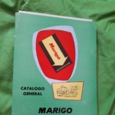 Catálogos publicitarios: CATÁLOGO JUGUETES Y PRECIOS CON FICHAS MARIGO 1977. Lote 145192824