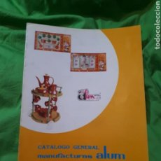 Catálogos publicitarios: CATÁLOGO GENERAL JUGUETES MANUFACTURAS ALUM 1977. Lote 145191001