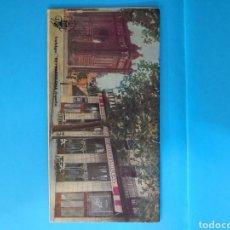Catálogos publicitarios: TRIPTICO MAPA BARCELONA DEL ANTIGUO HOTEL DUVAL DE BARCELONA. CON ANUNCIOS PUBLICITARIOS.. Lote 145585548