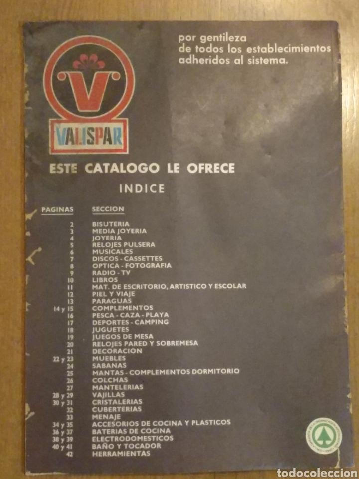 Catálogos publicitarios: Catálogo publicitario Valispar nº8 de 1975 - Foto 3 - 145915802