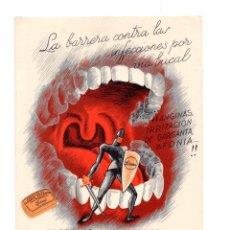 Catálogos publicitarios: PUBLICIDAD LABORATORIOS FARMACEUTICOS. R.MALO DE MOLINA -PASTILLAS AROMATIZADAS LARMA. Lote 146078398