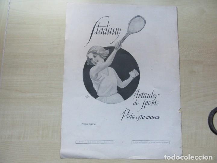 Catálogos publicitarios: 5 páginas de publicidad de la revista La Esfera (años 20) 36x 27,5 cms Ver descripción - Foto 3 - 146606490