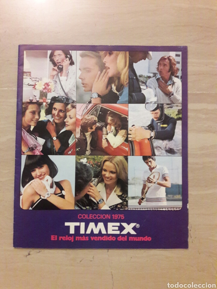 CATÁLOGO COLECCION 1975 RELOJES TIMEX. (Coleccionismo - Catálogos Publicitarios)