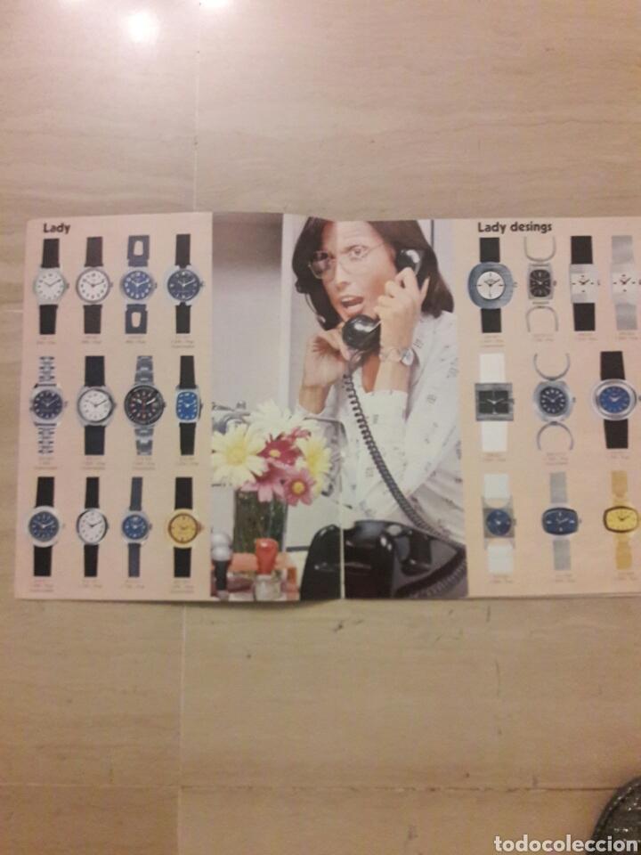 Catálogos publicitarios: Catálogo coleccion 1975 relojes Timex. - Foto 2 - 146801584