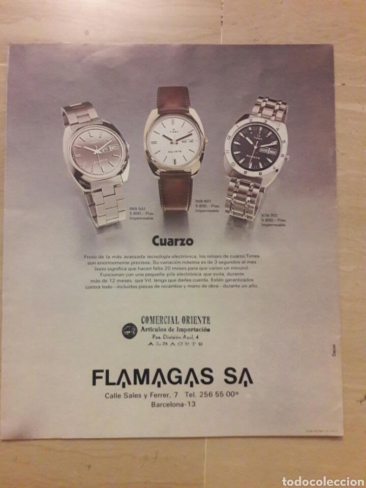 Catálogos publicitarios: Catálogo coleccion 1975 relojes Timex. - Foto 3 - 146801584