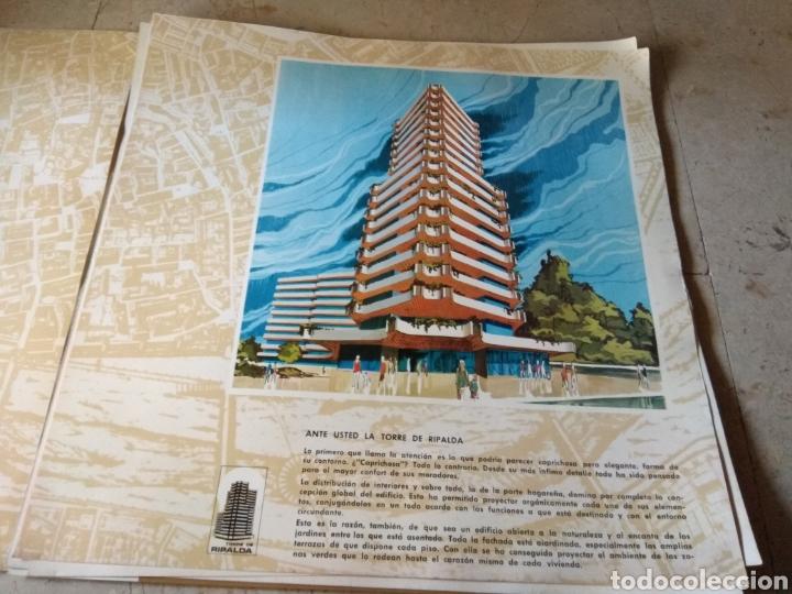 Catálogos publicitarios: Memoria de Calidades - Planos de Compra de Pisos Torre Ripalda - La Pagoda - Valencia 1973 - - Foto 3 - 146878773