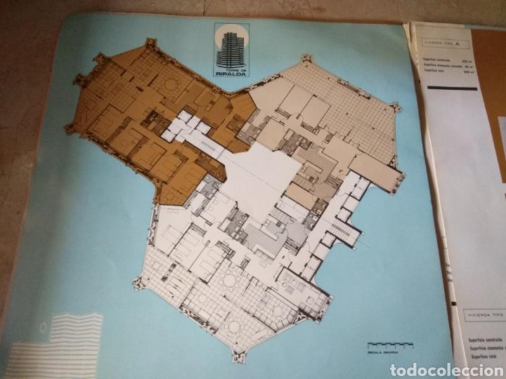 Catálogos publicitarios: Memoria de Calidades - Planos de Compra de Pisos Torre Ripalda - La Pagoda - Valencia 1973 - - Foto 10 - 146878773