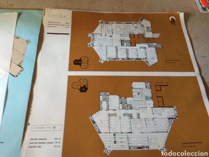 Catálogos publicitarios: Memoria de Calidades - Planos de Compra de Pisos Torre Ripalda - La Pagoda - Valencia 1973 - - Foto 11 - 146878773