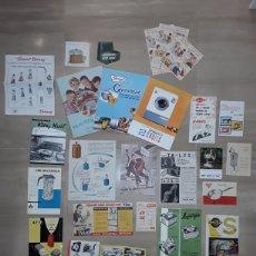 Catálogos publicitarios: GRAN LOTE DE ANTIGUOS FOLLETOS Y CATÁLOGOS PUBLICITARIOS.VARIADOS.. Lote 146882908