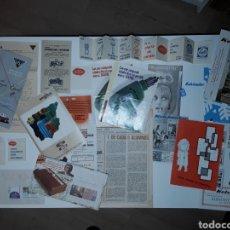 Catálogos publicitarios: LOTE CATÁLOGOS Y FOLLETOS PUBLICIDAD VARIADOS.. Lote 147465885