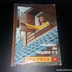 Catálogos publicitarios: CATÁLOGO REGALOS IFAPRIX Nº5. BUEN ESTADO, 1975. CON JUGUETES COMO NANCY, COCHES MIRA. Lote 147605966