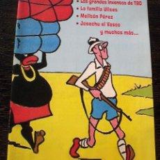 Catálogos publicitarios: TBO - CATÁLOGO PUBLICITARIO EDICIÓN COLECCIONISTA - PERFECTO ESTADO. Lote 147639338