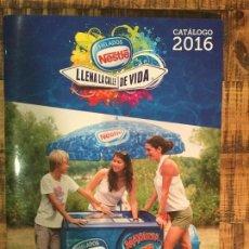 Catálogos publicitarios: NESTLÉ CATÁLOGO HELADOS LLENA LA CALLE DE VIDA 2016. Lote 147645338